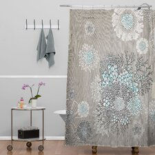 Iveta Abolina French Blue Extra Long Shower Curtain