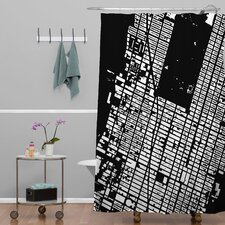 CityFabric Inc NYC Midtown Shower Curtain