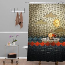 Jose Luis Guerrero Paper Boat Shower Curtain