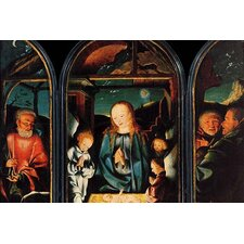 'Adoration of The Christ Child' by Jan Jost Kalkar Painting Print