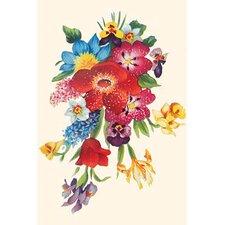 'Fancy Flower Arrangement' Painting Print