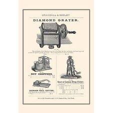 'Diamond Grater' Vintage Advertisement