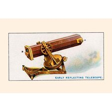 'Early Reflecting Telescope' Vintage Advertisement