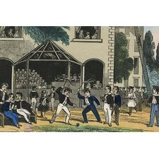 'Children Yield Whips in A Game' by Charles Butler Painting Print
