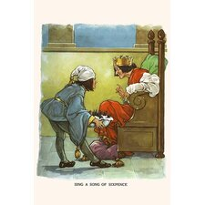 'Sing A Song of Sixpence' by Bird and Haumann Wall Art