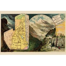 'New Hampshire' by Arbuckle Brothers Graphic Art