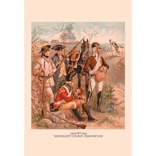 'Independent Company Organizations' by H.A. Ogden Painting Print