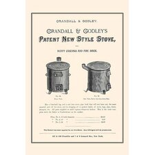 'Patent New Style Stove' Vintage Advertisement