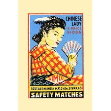 'Chinese Lady' Vintage Advertisement