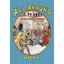 'All Around Weekly: After the Big Diamond' Vintage Advertisement