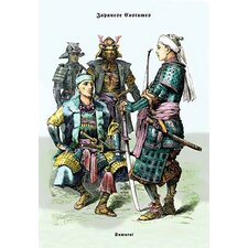 Japanese Costumes: Samurai Painting Print