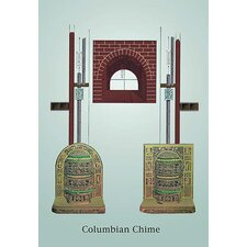 Columbian Chime Stove Painting Print