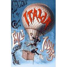 'Italian Balloon Poster' Wall Art