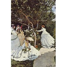 'Women in the Garden' by Claude Monet Painting Print