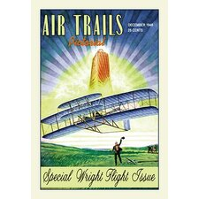 Air Trails Pictorial Vintage Advertisement