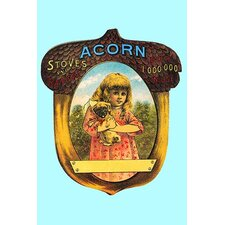 'Acorn Stoves and Ranges Over 1,000,000 in Use' by Hiram Ferguson Graphic Art