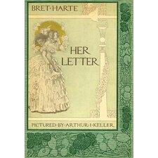 'Her Letter' by Arthur Keller Wall Art