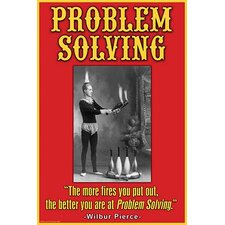 'Problem Solving' by Wilbur Pierce Wall Art