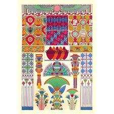 'Egyptian Décor' by Auguste Racinet Wall Art