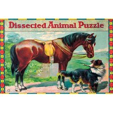 'Dissected Animal Puzzle' Wall Art