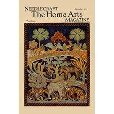 'Animal Tapestry' by Needlecraft Magazine Wall Art