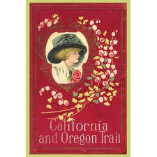 'California and Oregon Trail' Vintage Advertisement