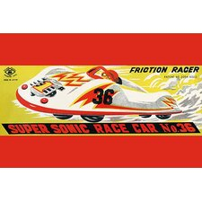'Super Sonic Race Car No. 36' Wall Art