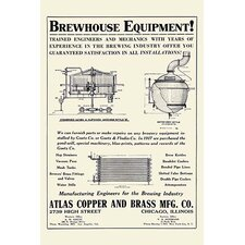 'Brewhouse Equipment' Wall Art