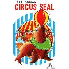 'Mechanical Circus Seal' Vintage Advertisement