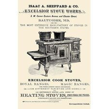'Isaac A. Sheppard & Co. Excelsior Stove Works' Wall Art