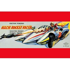 'Mach Rocket Racer' Wall Art