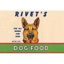 'Rivet's Dog Food' Vintage Advertisement