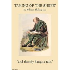 'Taming of the Shrew' by William Shakespeare Wall Art