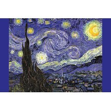 'Starry Night' by Vincent Van Gogh Painting Print