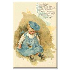 'Little Boy Blue' by Bird and Haumann Wall Art