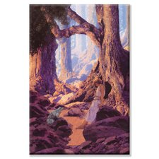 Enchanted Prince by Maxfield Parrish Painting Print on Wrapped Canvas