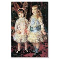'The Girls Cahen d'Anvers' by Pierre-August Renoir Painting Print