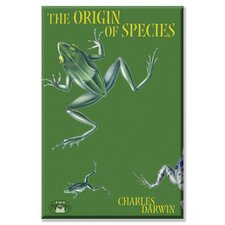 The Origin of Species Graphic Art on Wrapped Canvas