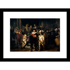 The Night Watch Framed Painting Print