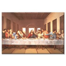 'The Last Supper' Painting Print on Wrapped Canvas