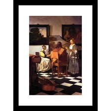 Musical Trio Framed Painting Print