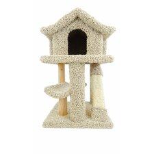 """32"""" Premier Mini Pagoda Cat Condo"""