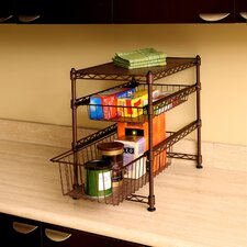 Stackable Kitchen Cabinet Organizer
