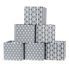 6 Piece Wave Storage Box Set