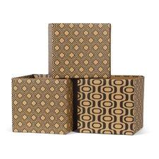 Leaf Pattern Decorative Storage Box
