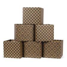Star Pattern Decorative Storage Box