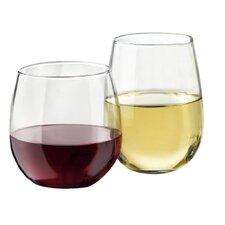 12 Piece Stemless Wine Glass Set