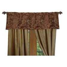 "Nutmeg Leaf 54"" Curtain Valance"
