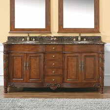 "Classico 72"" Double Bathroom Vanity Set"