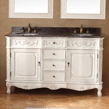 "Classico 60"" Double Bathroom Vanity Set"